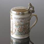 "Mug with Niels Juel, ""The Battle in Koege Bay"""