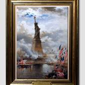 The Statue of Liberty, painting
