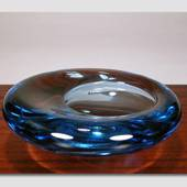 Glassbowl, light blue, ø18cm, Per Lütken