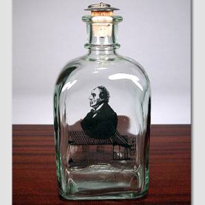 Glass-Bottle with H: C. Andersen | No. DG1949 | DPH Trading