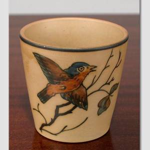 Vase with Bird, Hjorth | No. DG1971 | DPH Trading