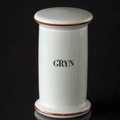 Bing & Grondahl Sundries Spice jars, Large, Gryn (Oat meal)