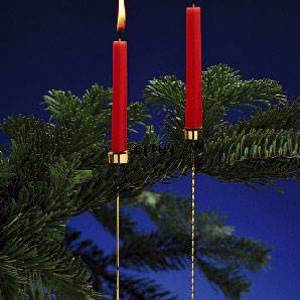 Asmussen Hamlet design candleholder for Christmas Tree, smooth