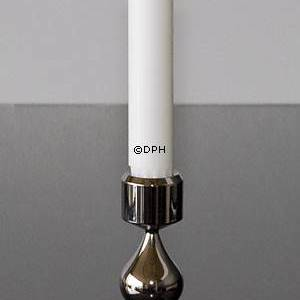 Asmussen Hamlet design candlestick with 3 drops, Tin