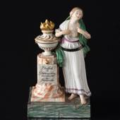 Friendship Figurine with women dressed al Greco, Royal Copenhagen overglaze...