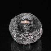 """Snow ball"" glass tealight holder, 9 cm, Kosta Boda"