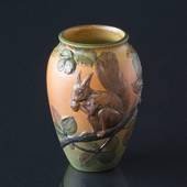 Ipsen Vase with squirrel, no. 795