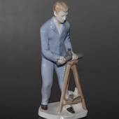 Figurine of Plumber, mark GDR 11243