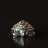 HJORTH Figurine of turtle.