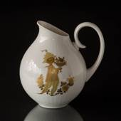 Pitcher Rosenthal Studio-Linie, white with gold