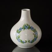 Vase Rosenthal Studio-Linie, white with decoration