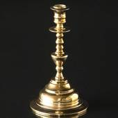Old brass candle stick 20 cm