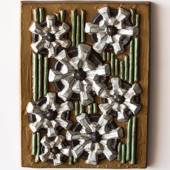 Relief with Flowers, Michael Andersen & Son Stoneware