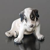 Puppy Wire Terrier Dahl Jensen Figurine No. 1008
