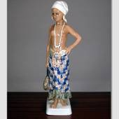 Girl from West-Sierre Leone figurine Dahl Jensen