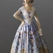 Spaniardin Girl in Dress figurine Dahl Jensen