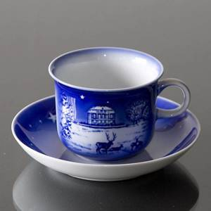 2000 Desiree Svend Jensen Hans Christian Andersen Christmas cup with saucer | Year 2000 | No. DK2000 | DPH Trading
