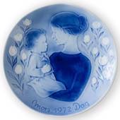 Good night 1972, Desiree Mother's Day plate Svend Jensen of Denmark