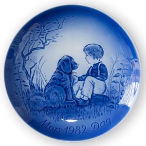 My best friend 1982, Desiree Mothers Day plate Svend Jensen of Denmark | Year 1982 | No. DM1982 | Alt. DM820 | DPH Trading