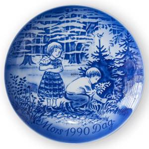 The spring excursion 1990, Desiree Mothers Day plate Svend Jensen of Denmark | Year 1990 | No. DM1990 | Alt. DM900 | DPH Trading
