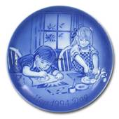 Child artists 1994,  Desiree Mother's Day plate Svend Jensen of Denmark