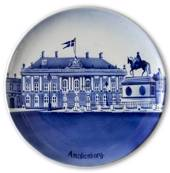Plate with Amalienborg 24cm
