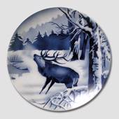 Plate no. 2555D - 20cm Red Deer, Villeroy & Boch