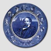 """Dickens"" plate"