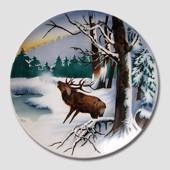 Villeroy & Boch, Plate no. 2549A Red Deer