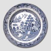 Chinese motif plate, English antique