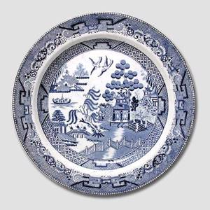 Chinese motif plate, English antique | No. DV1568 | Alt. DV.1568 | DPH Trading