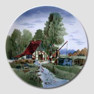Country Scenery plate