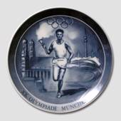 The Munich Olympics, plate, Royal Heidelberg