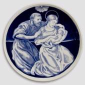 1909 Maria with child on Christmas Eve plate designed by Kaare Klint
