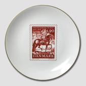 "Stamp plate ""The Frederiksborg Museum"""
