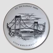 """The New Little Belt Bridge"", plate, Oct. 21st, Rosenthal"