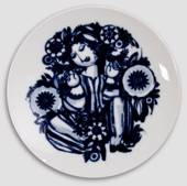 Wiinblad plate, Girl