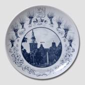 Plate with Scania motif