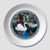 "H. C. Andersen's ""The Ugly Duckling"" plate"