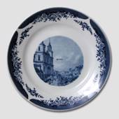Plate with Street Scenery