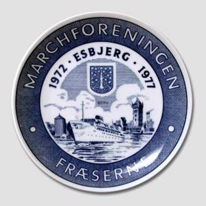 Memorial plate, The March Association Esbjerg
