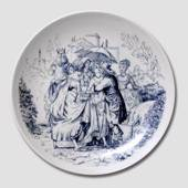 Hans Christian Andersen plate The Swineherd