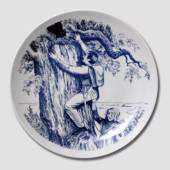 Hans Christian Andersen plate The Tinderbox