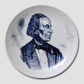 Plate with Hans Christian Andersen