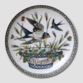 "Hutschenreuter Monthly plate ""August"", 16cm"