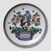 "Hutschenreuter Monthly plate ""October"" 16cm"