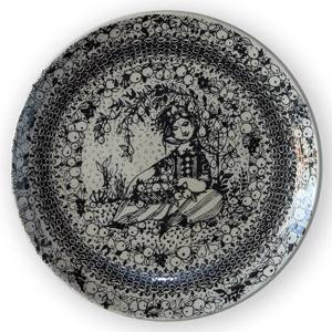 Autumn Bjorn Wiinblad Four Seasons plate 17cm | No. DV1942-E | DPH Trading