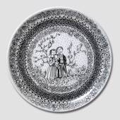 Spring Bjorn Wiinblad Four Seasons plate 27cm