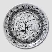 Winter Bjørn Wiinblad Four Seasons plate 27cm