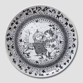 Winter Bjorn Wiinblad Four Seasons plate 35cm